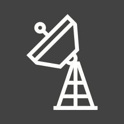 antenna, broadcast, dish, military, radar, satellite, tower icon