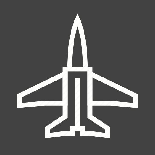 air, fighter, flight, fly, jet, military, sky icon