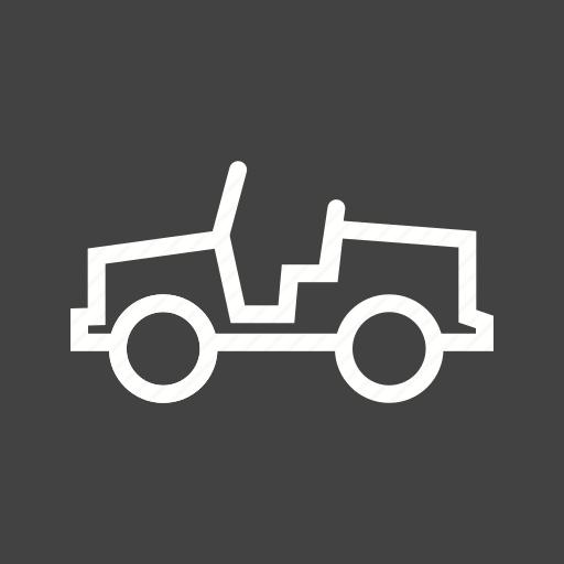 army, jeep, military, transportation, vehicle, war, world icon