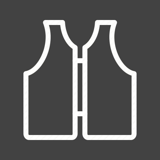 Accident, boat, jacket, life, orange, safe, vest icon - Download on Iconfinder