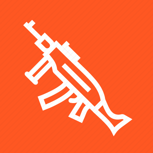 army, fire, gun, machine, military, shot, war icon