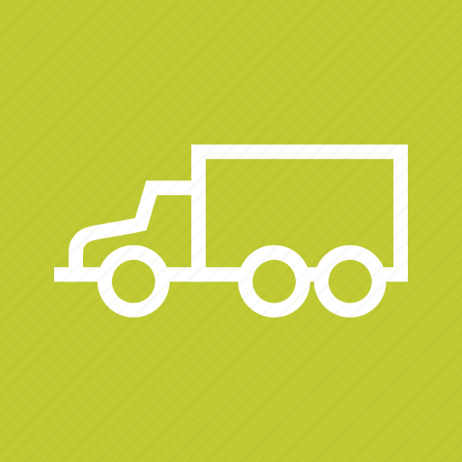 Logistics, cargo, trucks, commercial, delivery, truck, transport icon