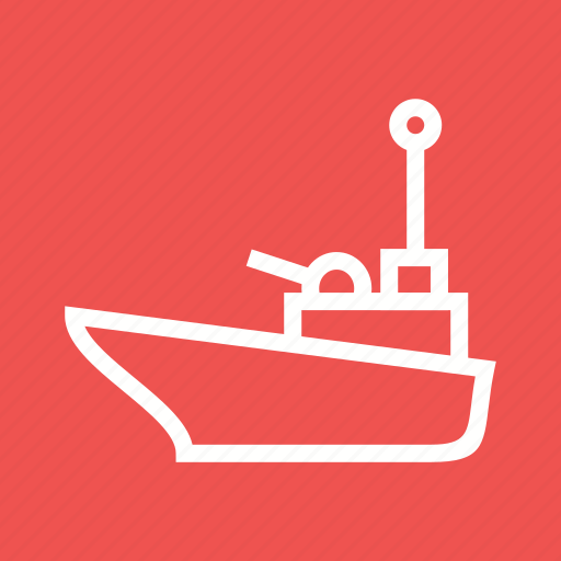 canal, offshore, oil, supply, transport, vessel, vessels icon