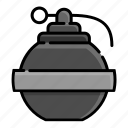 army, explosion, grenade, military, soldier, war, weapon icon