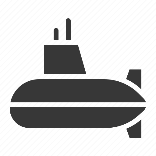 Army, equipment, military, submarine, vehicle icon - Download on Iconfinder