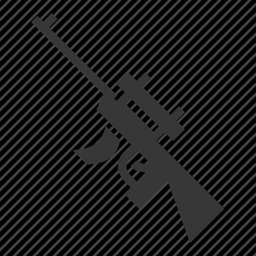 Army, assault gun, equipment, gun, military, sniper, weapon icon - Download on Iconfinder