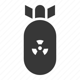 army, bomb, equipment, military, nuke, weapon icon
