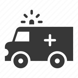 army, equipment, medical truck, military, vehicle icon