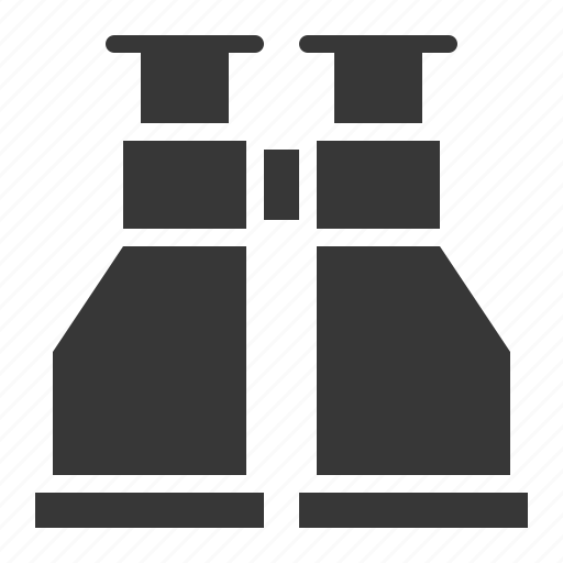 army, binocular, equipment, military, sight, spyglass icon