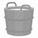 basket, container, cottage cheese, curd, milk, product icon
