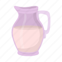 container, food, jug, milk, product icon