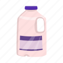 canister, container, food, jug, milk, packaging, product