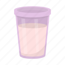 food, glass, milk, container, product, packaging icon