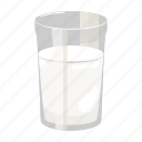 dairy product, cooking, dish, drink, milk, glass