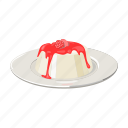 cooking, cottage cheese, dairy product, dessert, dish, milk, mus icon