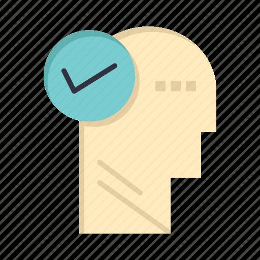 head, mind, solution, thinking icon