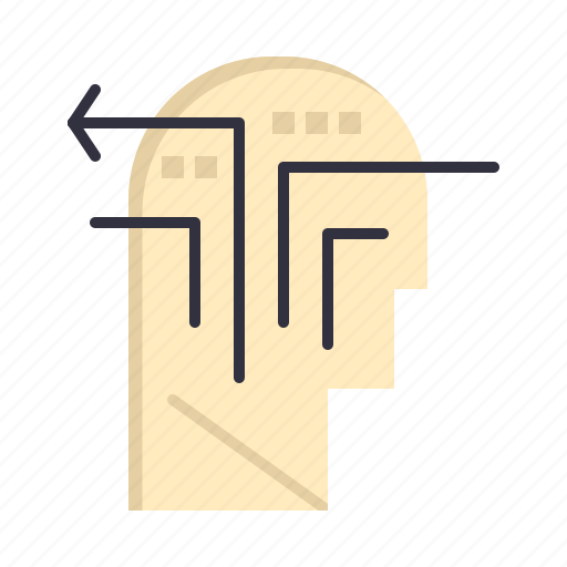 Head, mind, strategy, thinking icon - Download on Iconfinder