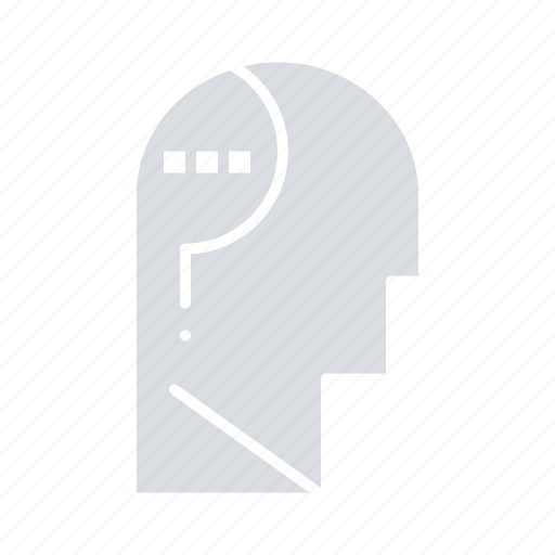 Brain, confuse, mind, question icon - Download on Iconfinder