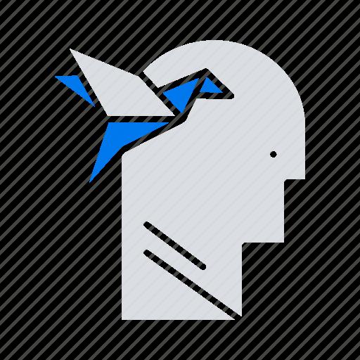 form, head, imagination, imaginaton icon