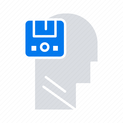 Data, male, memory, save, user icon - Download on Iconfinder