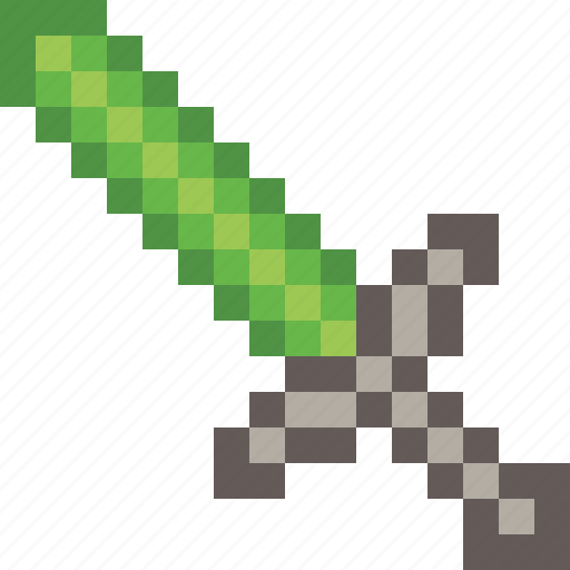 game, gaming, minecraft, protect, sword, video icon