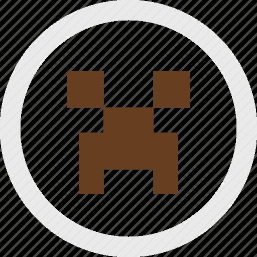 block, create, game, gaming, minecraft, video icon