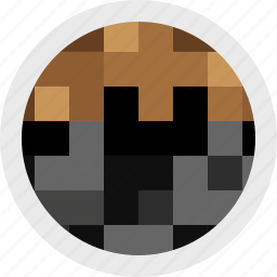 creation, game, gaming, minecraft, video icon