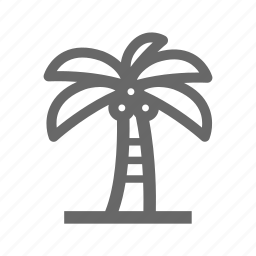 beach, holiday, sea, summer, travel, vacation icon