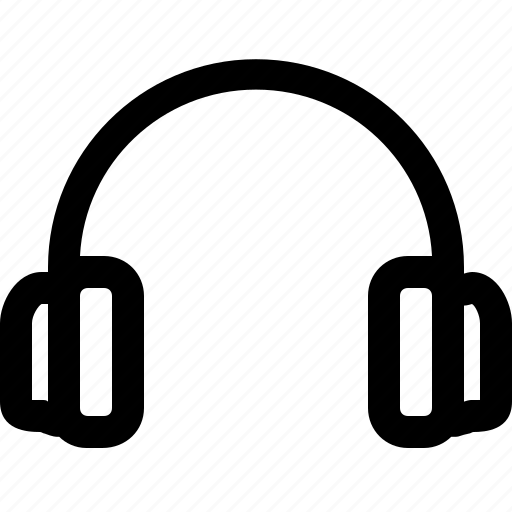 audio, headset, multimedia, music, sound icon