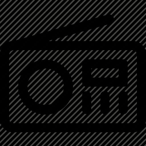 Audio, multimedia, music, radio, sound icon - Download on Iconfinder