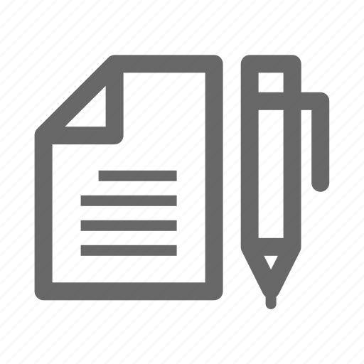 Business, office, company, worker, employee, stationary icon