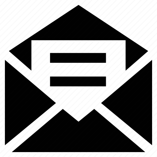 email, email opened, envelope, letter, mail, message, read message icon