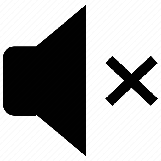 Audio, mute, no sound, sound, volume, volume control, volume mute icon - Download on Iconfinder