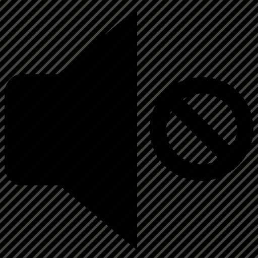 audio, mute, sound adjustment, sound off, speaker, volume sound icon