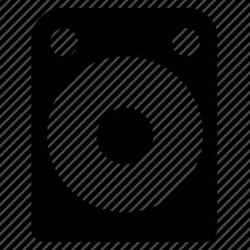loudspeaker, music, sound, speaker, subwoofer, woofer icon