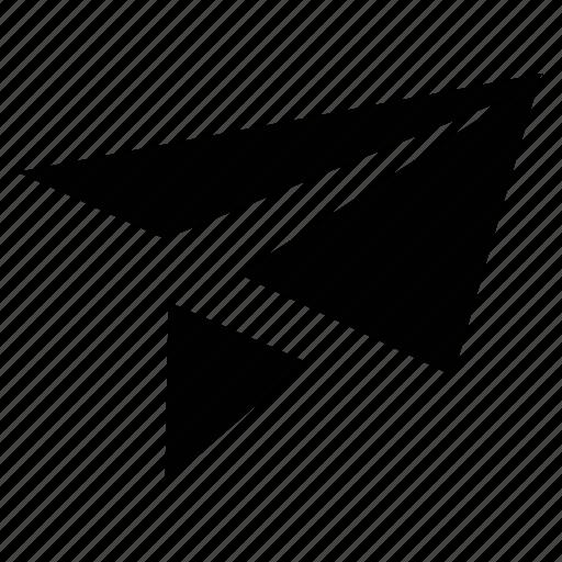 airplane, fly, fun, origami, paper plane, plane icon
