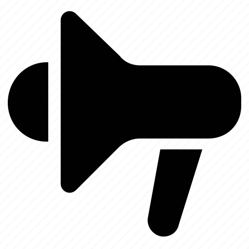 Bullhorn, loud hailer, loud speaker, mega phone, protest, voice icon - Download on Iconfinder
