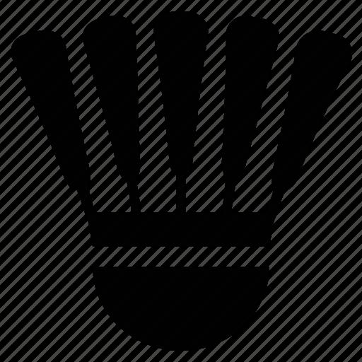 badminton, fitness, game, play, shuttle, shuttlecock icon
