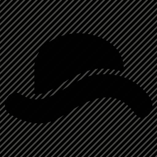 Cowboy hat, fedora, floppy hat, hat, homburg hat, tyrolean hat icon - Download on Iconfinder