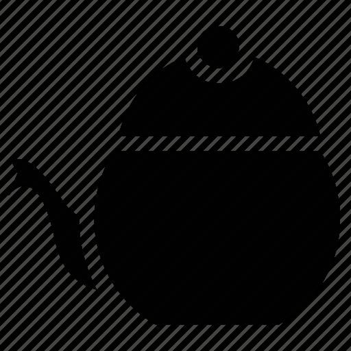 kettle, pot, tea kettle, teakettle, teapot, thermos icon