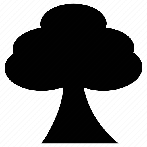 generic, greenery, nature, shrub, tree icon