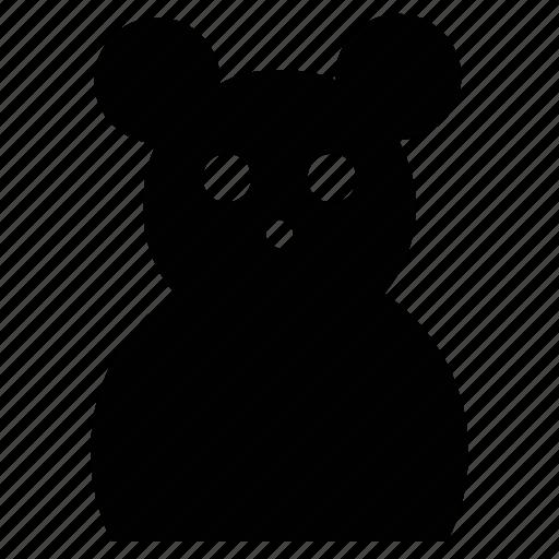 animal, teddy, teddybear, toy, toy teddybear icon