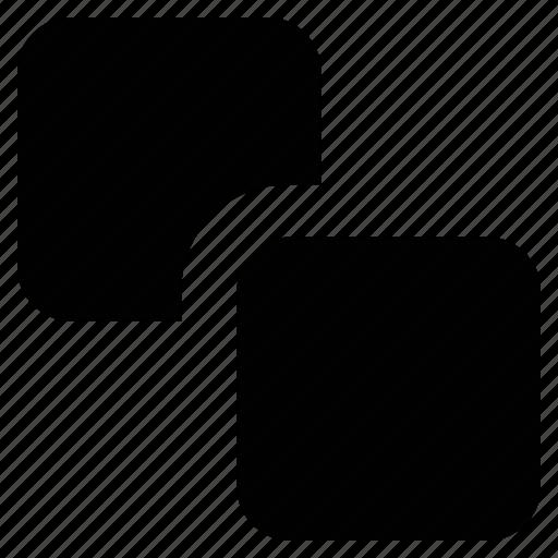 copy symbol, duplicate, overlapping squares, squares icon