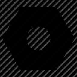 decagon, hexagon, hexagonal shape, polygon icon