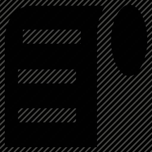 dialogue, document, manuscript, script, text icon