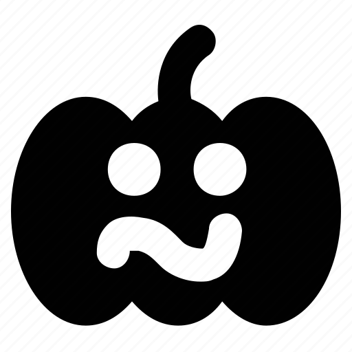 Bother, confused, discomfit, pumpkin, upset icon - Download on Iconfinder