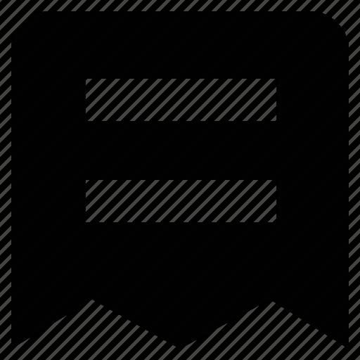 justify, page, script, text icon