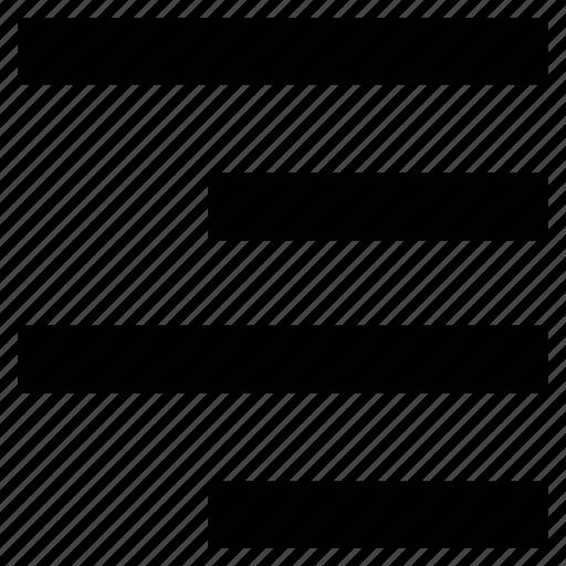 alignment, center alignment, text, text align icon