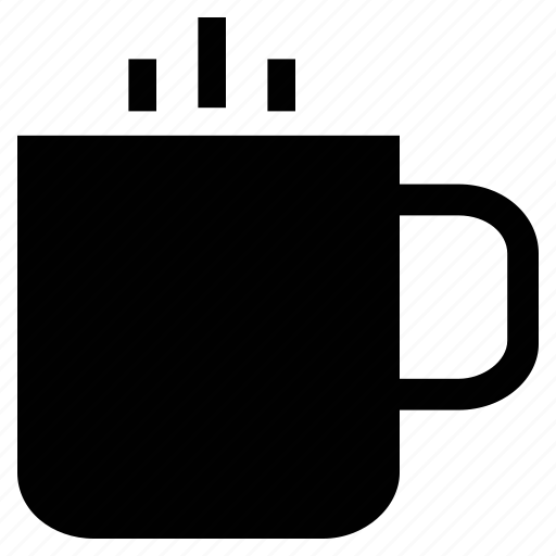 coffee, cup, drinking, hot drink, mug, steam, tea cup icon