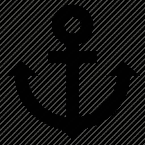 anchor, boat anchor, sailor anchor, sailor tattoo icon